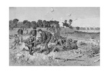 Confederate Line Waiting Orders in the Wilderness, Illustration from 'Battles and Leaders of the… Giclee Print by William Ludlow Sheppard