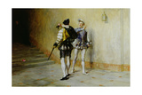 The Commencement of the Quarrel Giclee Print by John Pettie