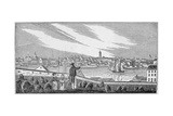 South View of Charlestown, from 'Historical Collections of Massachusetts', by John Warner Barber,… Giclee Print by John Warner Barber