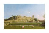Warwick Castle, C.1748-49 Giclee Print by  Canaletto