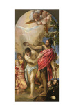 The Baptism of Christ Giclee Print by Paolo Veronese