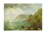 Salcombe Estuary, South Devon, 1882 Giclee Print by Henry Dawson