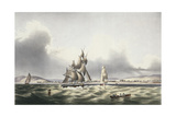 Vessels Leaving Port Royal, Plate 29 from 'West Indian Scenery: Illustrations of Jamaica',… Giclee Print by Joseph Bartholomew Kidd