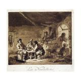Les Nouvellistes, 1768 Giclee Print by Jean-Baptiste Le Prince