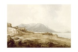 View in Macao Including the Residence of Camoens Where He Wrote His Lusiad, from 'Views in the… Giclee Print by John Webber