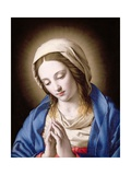 The Madonna Praying Giclee Print by  Giovanni Battista Salvi da Sassoferrato