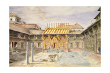 T613 Hoolchok in the Bhatyaon Durbar, Nepal, 1852-60 Giclee Print by Dr. Henry Ambrose Oldfield