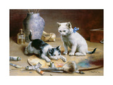 Studio Assistants Giclee Print by Carl Reichert
