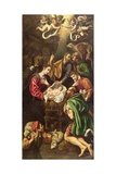 The Adoration of the Shepherds, C.1620 Giclee Print by Luis Tristan de Escamilla