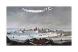 View of Danzig (Gdansk) in Winter Giclee Print by Lorenz Strauch