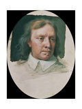 Miniature of Oliver Cromwell (Unfinished) Giclee Print by Samuel Cooper