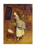 In the Picture Gallery Giclee Print by Sir William Quiller Orchardson