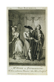Mr Foote as Fondlewife in 'The Old Bachelor', Engraved by W. Walker, 1776 Giclee Print by John James Barralet