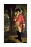 "Portrait of Major-General Horton Briscoe (1741-1802), ""The Meritorious Officer"", C.1773-76 Giclee Print by Tilly Kettle"