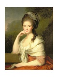 Portrait of a Woman, 1778 Giclee Print by Jens Juel