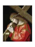 Christ Carrying His Cross, 1535 Giclee Print by Marco Palmezzano