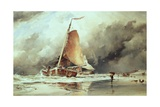 Seascape Giclee Print by Edward William Cooke