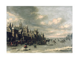 Winter Landscape Giclee Print by Thomas Heeremans