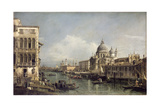 Entrance to the Grand Canal, Venice Giclee Print by Bernardo Bellotto