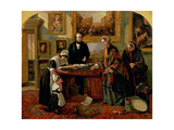 The Foundling Restored to its Mother, 1858 Giclee Print by Emma Brownlow