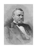 General Ulysses Simpson Grant, Engraved from a Photograph, Illustration from 'Battles and Leaders… Giclee Print by Mathew Brady