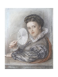 Head of a Lady Giclee Print by Frederic James Shields