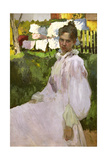 Portrait of Mrs N.F. Ober, 1896 Giclee Print by Konstantin Andreevic Somov