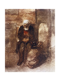 "Poor Jew, One of the ""Pictures at an Exhibition"" Giclee Print by Viktor Aleksandrovich Gartman"