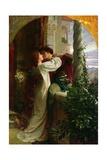 Romeo and Juliet, 1884 Giclée-tryk af Frank Bernard Dicksee