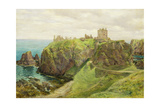 Dunnottar Castle Giclee Print by Sir George Reid