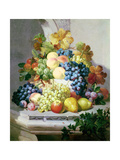 Still Life with Grapes and Pears Giclee Print by Eloise Harriet Stannard