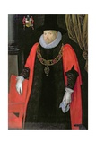 Portrait of Sir William Craven (C.1548-1618) Lord Mayor of London, C.1611 Giclee Print by Marcus Gheeraerts