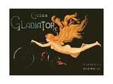 'Gladiator Cycles', Boulevard Montmartre, Paris Giclee Print