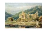 Tintern Abbey Giclée-Druck von Thomas Girtin