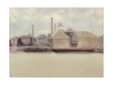 Battersea Reach Giclee Print by Paul Fordyce Maitland