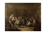 The Press Gang, C.1760s Giclee Print by John Collet