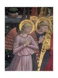 Angels, 1459 (Detail) Giclee Print by Benozzo di Lese di Sandro Gozzoli