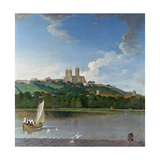 Lincoln from the Brayford Pool Giclee Print by Joseph Baker