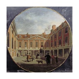 St. Thomas's Hospital, C.1748 Giclee Print by Samuel Wale