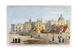 Broad Street, Oxford, Engraving, 1793 Giclee Print by Joseph Farington
