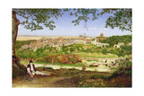 Ariccia, Italy, 1860 Giclee Print by John William Inchbold