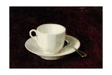 White Cup and Saucer, 1864 Giclee Print by Ignace Henri Jean Fantin-Latour
