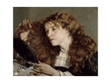 Jo, the Beautiful Irish Girl, 1866 Giclee Print by Gustave Courbet