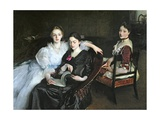 The Misses Vickers, 1884 Giclee Print by John Singer Sargent