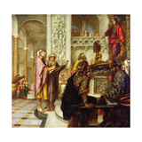 Christ Preaching in the Temple, 1686 Giclee Print by Juan de Valdes Leal