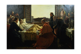 The Last Moments of Raphael (1483-1520) 1866 Giclee Print by Henry Nelson O'Neil