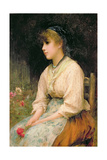 A Venetian Flower Girl, 1877 Giclee Print by Sir Samuel Luke Fildes