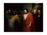 The Incredulity of St. Thomas Giclee Print by Benjamin West