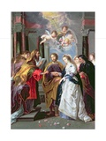The Marriage of the Virgin Giclee Print by Erasmus Quellinus