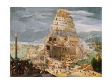 The Tower of Babel, 1604 Giclee Print by Abel Grimmer or Grimer